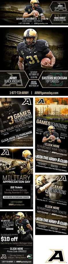 2013 Army Football Images on Behance