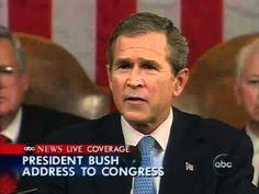 Bush Declares the War on Terror • 20 September 2001 http://www.youtube.com/watch?v=_CSPbzitPL8 http://en.wikipedia.org/wiki/War_on_Terror
