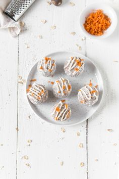 No-Bake Raw Vegan Carrot Cake Bites | Gluten-Free & Soy-Free | The Plant Philosophy