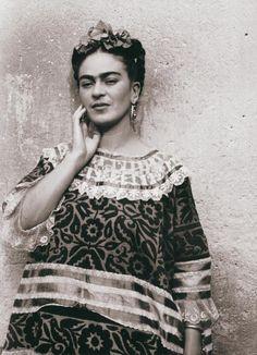 En la Casa Azul, 1940. Fotografia de Leo Matiz