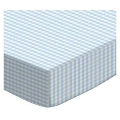 Sheetworld Gingham Jersey Knit Pack N Play Fitted Sheet Color: