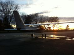 Beautiful shot, no filter, shot with an old iPhone 4 at sunset at KDET. Just got done washing N7700U before the next day's film shoot.  #flightventures #kdet #thebase #travellife #livetravelchannel #Detroit #detroitcityairport #puredetroit #puremichigan #detroit_igers #hellyeahdetroit #downwithdetroit #C172 #Cessna #Sunset #DetroitSunSet #Textron #CessnaSunSet #HangarLife #PilotLife #TravelMi #TravelMichigan @puremichigan @aopa