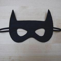 Globers Máscaras de superhéroes en fieltro para niños. Batman. Cumpleaños y fiestas. Cool parties. Superhero felt masks. Kids.