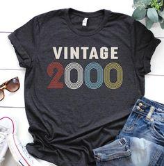 1956 shirt - birthday shirt - gift for women - Vintage 1956 shirt - birthday shirt - 21st Birthday Shirts, 25th Birthday, Sister Birthday, 30th, Birthday Ideas, Birthday Gifts, Teacher Shirts, S Shirt, Colorful Shirts