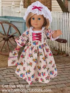"SHOP historical 18"" doll clothes at Harmony Club Dolls <a href=""http://www.harmonyclubdolls.com"" rel=""nofollow"" target=""_blank"">www.harmonyclubdo...</a>"