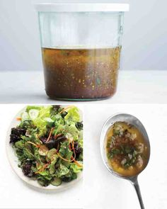 Martha Stewart's White House Honey Apple Cider Vinaigrette. One of my favs!