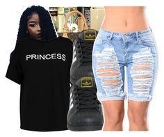 A fashion look from April 2017 featuring cropped shirts and black and white shoes. Browse and shop related looks. Basic Outfits, Kids Outfits, Summer Outfits, Casual Outfits, Cute Outfits, Teen Fashion, Fashion Outfits, Casual Dresses For Teens, Black And White Shoes