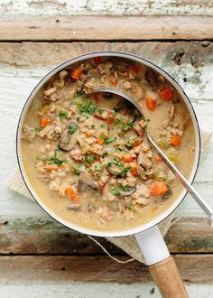 Ina Garten's Wild Mushroom & Farro Soup — Recipes from The Kitchn
