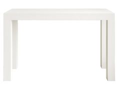 """Parsons console or desk 48""""X16""""X30""""  Textured lacquered grasscloth in five olors. PSN-400-59"""