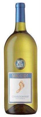 This chardonnay is one of our top selling American wines. Dripping with honeyed peach & Fuji apple flavors.  Size: 1.5L