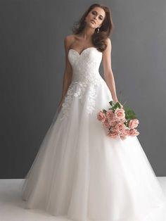 Allure wedding dress 8873
