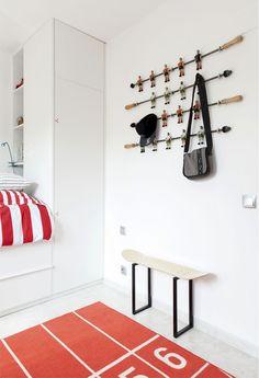 Funcional y buen diseño para su casa, oficina o negocio.  Decoración original para una habitación de deportes skateboard.  Regalo de cumpleaños para el skater fan hijo, hija o amigos ...