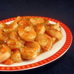 Spicy Orange Shrimp Stir-Fry.  Looks delish and it's a Cooking Light recipe.