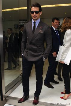 David Gandy. Love his look.