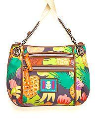 Lily Bloom Mini Crossbody Double Zip Bag