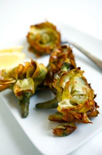 Recipe for Deep-Fried Artichokes - Carciofi alla Giudea   DeLallo Recipes
