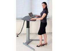 XO2 EL Standing Desk w/o Keyboard. Ergonomic_Design #health