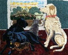 RUG HOOKING DAILY - loops and links for rug hookers: It's about crafting rugs by hand