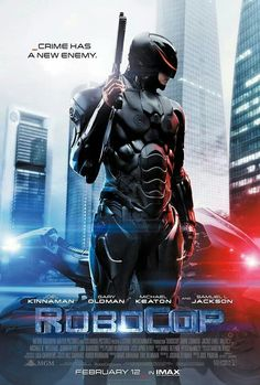 The new #Robocop movie poster.