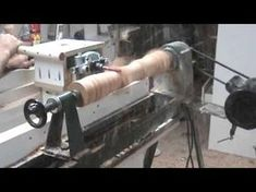Crazy Router Lathe Video - YouTube