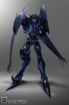 Transformers Prime - Soundwave