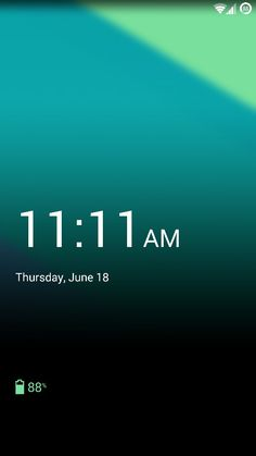 Oneplus One lockscreen