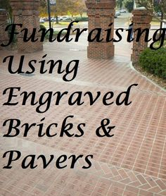 Using engraved bricks for fundraising is another excellent way to raise funds for your nonprofit group, church, or school. The so-called Buy A Brick fundraiser is easy to do and produces great results for special projects or capital campaigns.