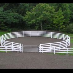 Round pen hook up