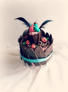 Lick The Spoon: Woodland Love Bird Cake