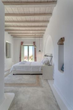 Detalle piso concreto y madera