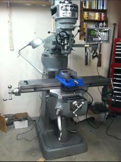 Bridgeport Milling Machine - Restoration Slideshow. Use this model at work.