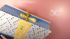 DIY Scrapbook Album Box - Scatola per gli Album Scrap! Diy Crafts Hacks, Diy Crafts For Gifts, Diy Gift Box, Diy Box, Mini Scrapbook Albums, Diy Scrapbook, Diy Paper, Paper Crafts, Cardboard Crafts