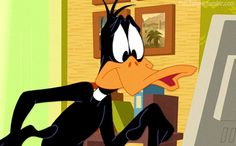 Check out all the awesome looney tunes gifs on WiffleGif. Including all the daffy duck gifs, bugs bunny gifs, and the looney tunes show gifs. Looney Tunes Funny, Looney Tunes Cartoons, Old Cartoons, Gifs, Daffy Duck Quotes, Minion, Cartoon Birds, Quirky Art, Saturday Morning Cartoons