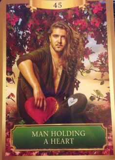 Weekly Forecast Reading 04/27 - 05/02/15  #45  Man Holding a Heart