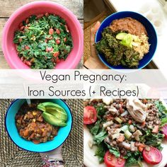 Vegan Pregnancy: Iron Sources (+ Recipes)