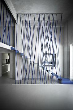 L'atmosphère de ce thème est #minimaliste, à caractère #unisexe, avec une impression de #pureté, de légèreté et de strates tout en #transparence. Crédit : Interiors Dimorestudio, photo Beppe Brancato.