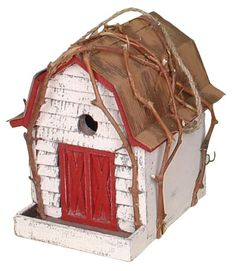 Birdhouses  Garden Decoration BH02025LR Birdhouse, 11.81103-Inch, Burgundy Backyard * This is an Amazon Associate's Pin. Find out more from the website by clicking the image.