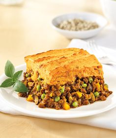 Sweet Potato Shepherd's Pie using Yves Veggie Ground Round #soyswaps #soyfoodsmonth #stpattys #recipe