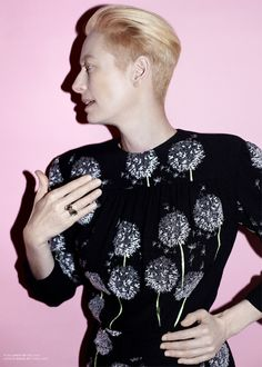 Tilda Swinton for The Room Issue 14