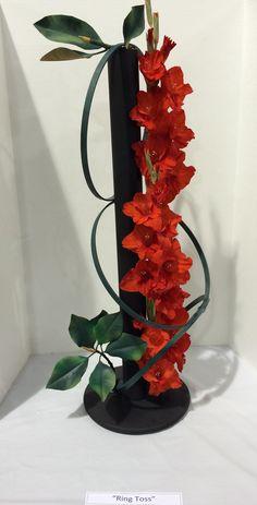 Ozarks Empire Fair Flower Show II. Ring Toss.  Ruth McMillion. Ever Green Garden Club.