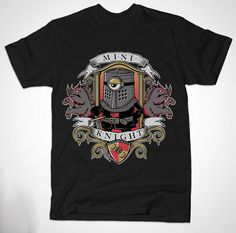Minion Black Knight T Shirt   Despicable Me meets Monty Python and the Holy Grail. None shall pass!   Visit http://shirtminion.com/2015/04/minion-black-knight-t-shirt/