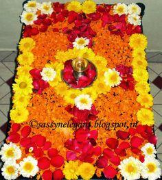 Floral Rangoli
