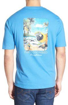 1f14b6aa3a Tommy Bahama  Photo Bombed  Graphic T-Shirt Tommy Bahama