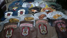 The warriors movie and game replica costumes by NINTH-DELEGATE
