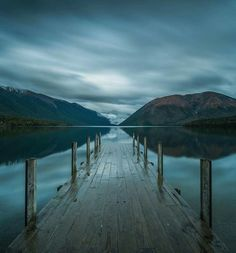 Lake Rotoiti, Saint Arnaud, New Zealand