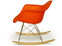 chaise-design - Rocking chair RAR orange