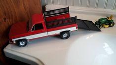 Chevy PU with John Deere lawnmower
