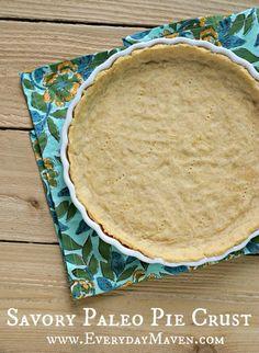 Savory Paleo Pie Crust from www.everydaymaven.com
