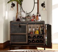 Pottery Barn - Ludlow Trunk Bar Cabinet