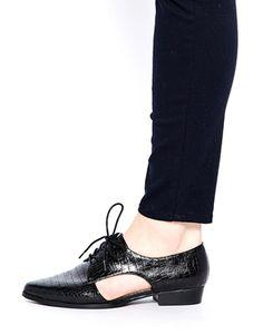 Agrandir Faith - Amsterdam - Chaussures richelieu à découpes